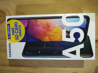 Celular Samsung A50 Negro 64gb Y 4gb De Ram