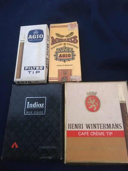 Cajas De Cigarrillos / Marquillas Holandesas X4