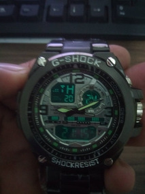 Relógio Masculino G Shock Aço Á Prova D