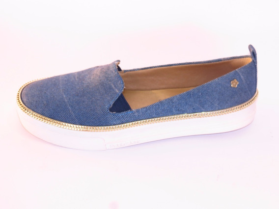 Tênis Feminino Alpargatas Jeans Confortável Petite Jolie