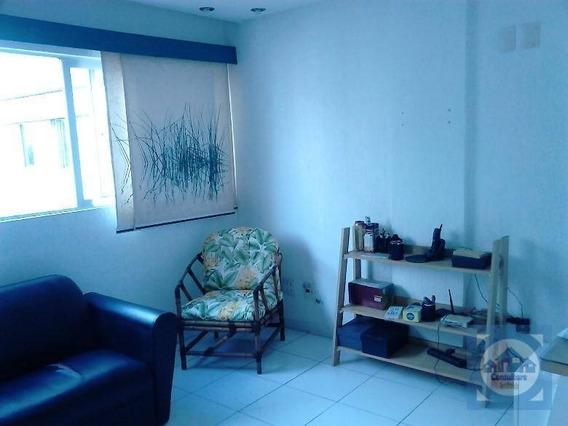Apartamento Com 2 Dormitórios À Venda, 90 M² Por R$ 350.000,00 - Itararé - São Vicente/sp - Ap3799