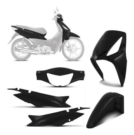 Kit Plástico Carenagem Moto Biz 125 2006 Até 2010