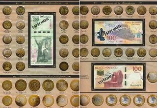 Album Aguila Para Monedas De 5 10 20 Y Billetes Con Envio