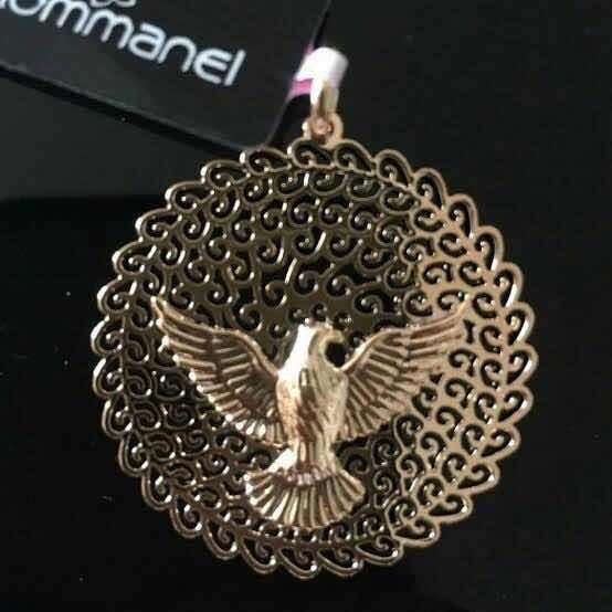 Pingente Espírito Santo +corrente (leia Descrição)romanel