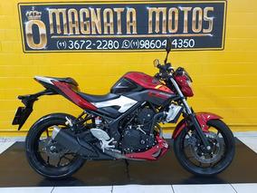 Yamaha Mt 03 - Vermelha Abs - 2017- Km 18000