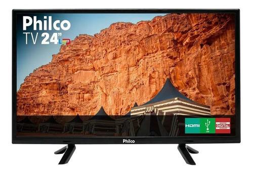 Tv Led 24  Philco Ptv24c10d Hd Conversor Digital Hdmi Usb