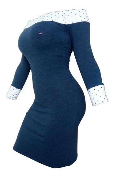 Vestido Dama Casual Manga Larga Multiusos
