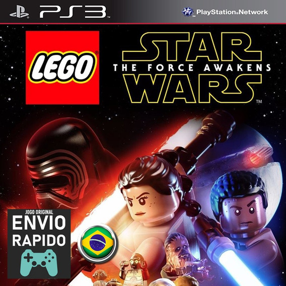 Lego Star Wars The Force Awakens - Jogos Ps3 Original