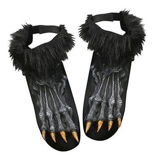 Cubiertas De Zapatos De Hombre Lobo Color Plateado