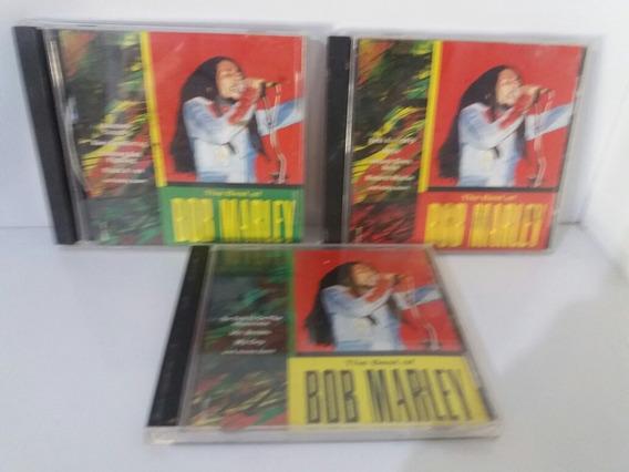 3 Cds Do Bob Marley Original Vindo Dos Estado Unidos