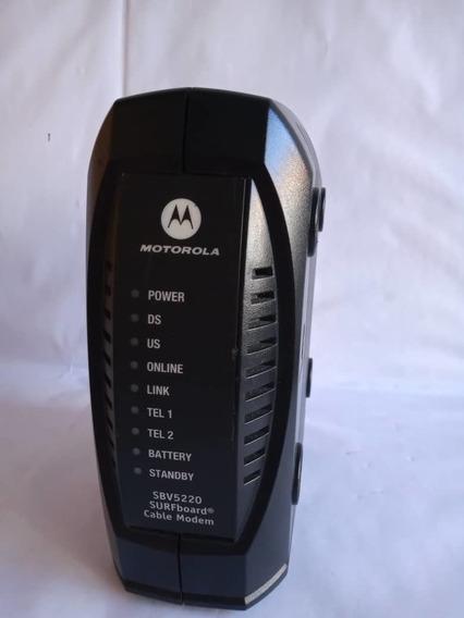 Modem Intercable Motorola Internet Telefonia Tv