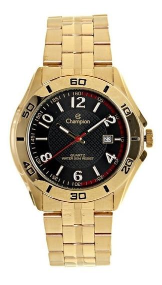 Relogio Champion Original Dourado Ca30212