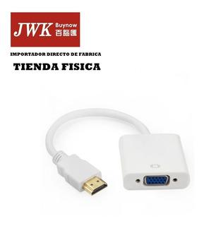 Convertidor Hdmi A Vga Video Monitor Laptop Ps3 Jwk Vision