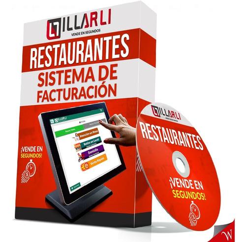Imagen 1 de 10 de Software Sistema Facturación Caja Registradora Restaurantes