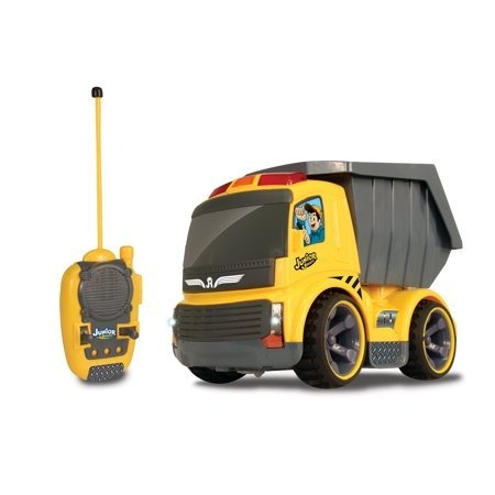 Carrinho De Controle Remoto Dump Truck Junior Racers