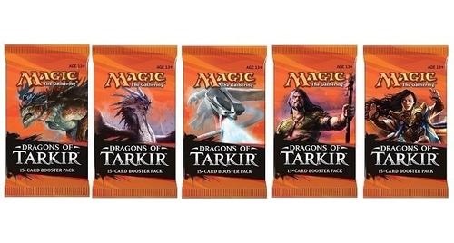 Mtg - Dragoes De Tarkir Booster !! | Mercado Livre