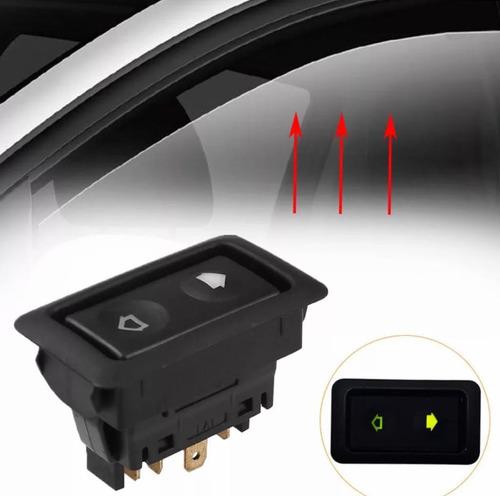 Elevador De Vidrio Botón Suiche Switch Universal Carros Cami