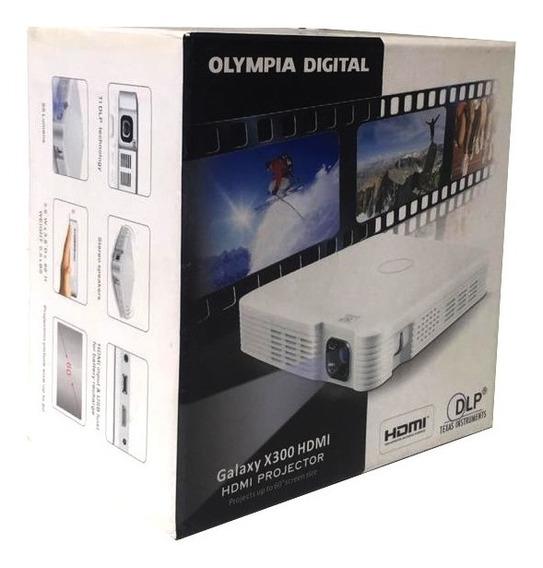 Mini Projetor Olympia Galaxy X300 Hdmi