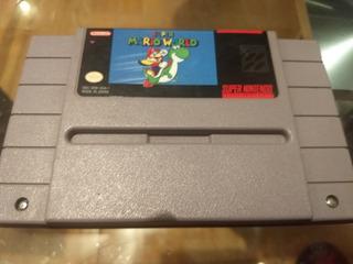 Super Mario World Super Nintendo Snes
