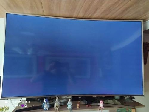 Televisor Samsung De 55 Pulgadas Curvo Smart Tv
