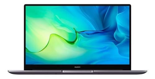 Imagen 1 de 7 de Laptop Huawei Matebook D 15 Intel Core I3 8gb+256gb Gris