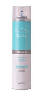 Nov Diamond Brillo Spray Capilar Con Silicona 245 G/ 420 Ml