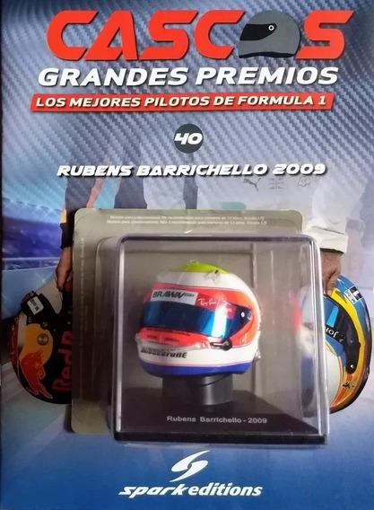 Coleccion Cascos Grandes Premios N40 Rubens Barrichello 2009