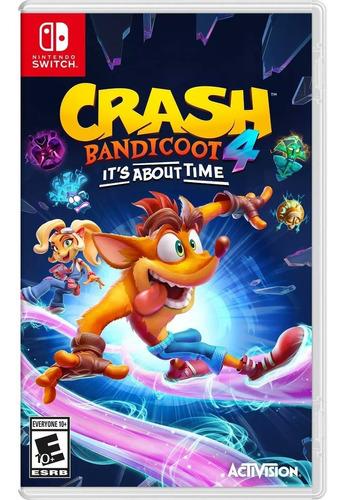 Imagen 1 de 1 de Crash Bandicoot 4 Its About Time Nintendo Switch