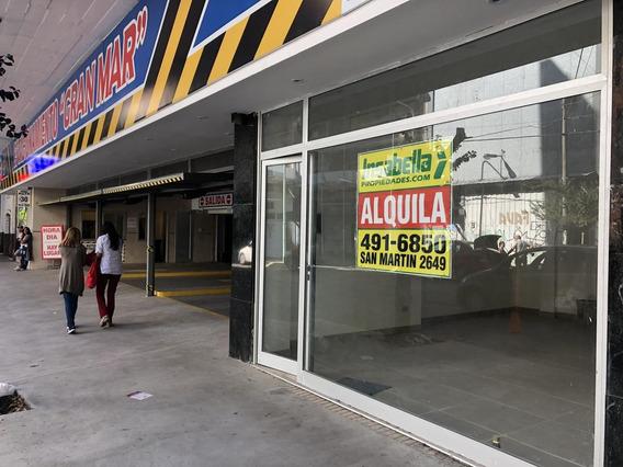 Insabella Propiedades - Alquila Local Comercial - Salta 1531, Entre Av. Luro Y 25 De Mayo - Frente: 4.80 - Fondo: 8.40 Mts