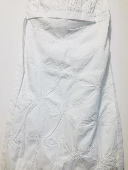 Vestido Solero Charlotte Russe Usa Strapless Talle S 36/38