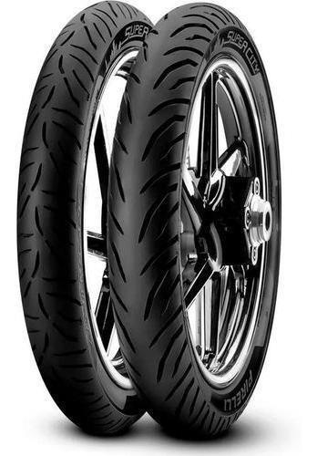 Imagen 1 de 2 de Kit Cubiertas 80 100 18 + 90 90 18 Super City Pirelli