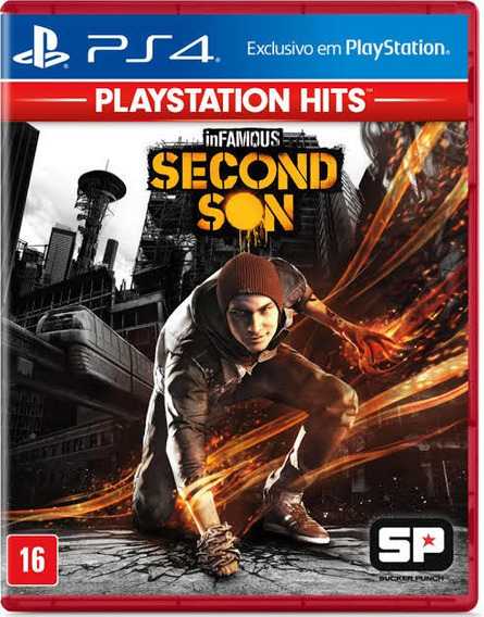 Infamous Second Son Ps4 Mídia Digital Conta Segudaria