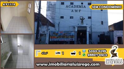 Ap1114- Apartamento Na Barra Do Ceará 2 Andar, Com 1 Quarto