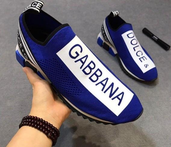 Tênis Luxo Dulce Gabbana