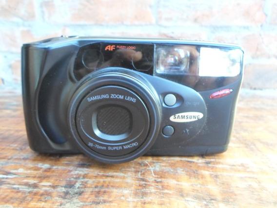 Antiga Máquina Fotográfica Samsung Af Zoom 777i Decoraçao