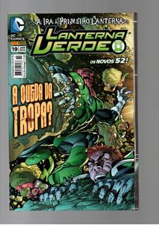 Hq Liga Lanterna Verde Os Novos 52! 6 Edição Nº 19,26,27,28