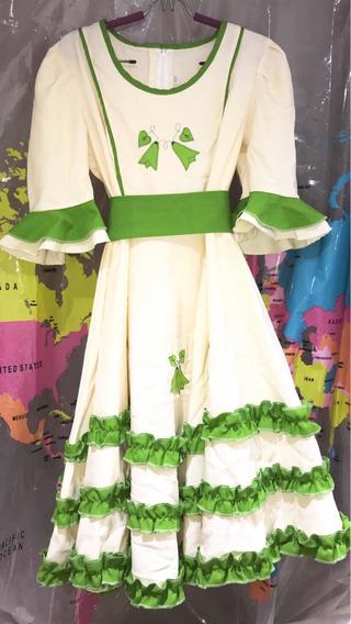 Vestido Huasa China Elegante