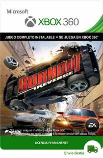 Burnout Revenge Xbox -- Envío Gratis --