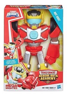 Transformers Hot Shot Mega Mighties Rescue Bots Academy