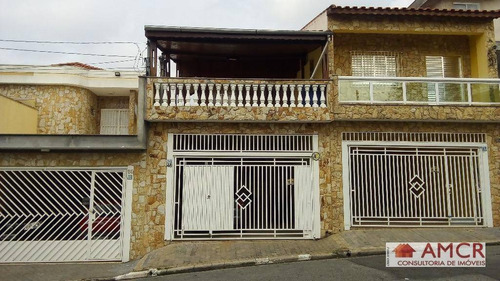 Sobrado Residencial À Venda, Vila Costa Melo, São Paulo. - So0573