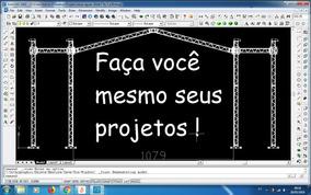 Kit De Projetos 3d Para Estruturas Box Truss P25 P30 P50 Etc