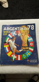 Álbum Copa Do Mundo Argentina 1978 Panini Original Completo