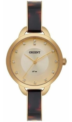 Relógio Orient Eternal Feminino Ftss0037 Cikm Dourado Oferta