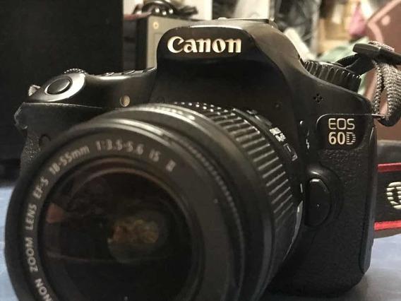 Canon 60d + 18-135mm 2 Baterias + Carregador + Cartão 32gb