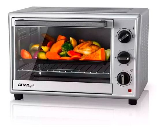 Horno Eléctrico Atma Hg3010n 30 Lts 1500w 18 Cts