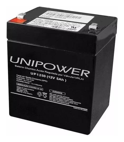 Bateria 12v 5ah Original Unipower Up1250