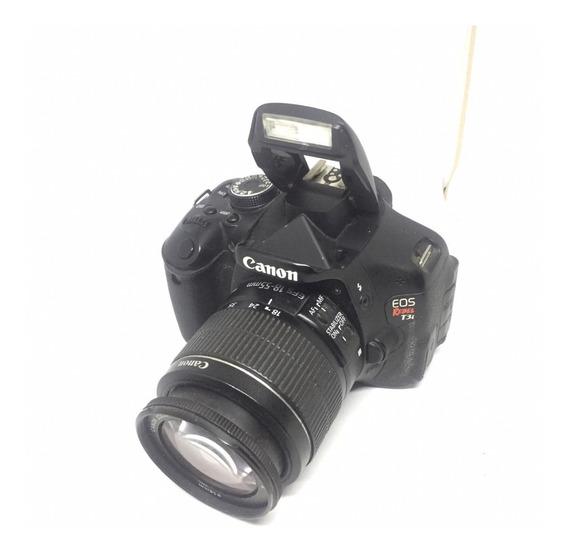 Câmera Canon T3i Lente 18-55mm Ótimo Estado + Brinde