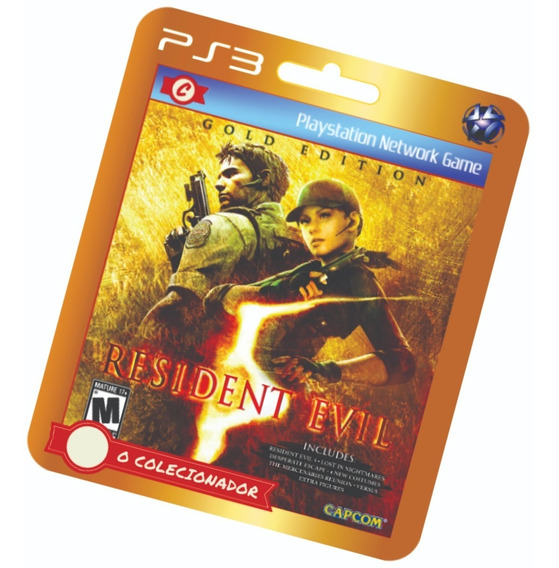 Resident Evil 5 Gold Edition! Ps3
