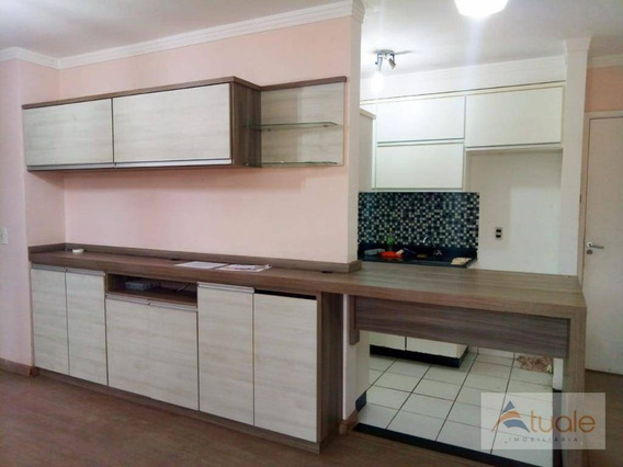 Apartamento Com 2 Dormitórios À Venda, 57 M² Por R$ 220.000,00 - Condomínio Avalon - Hortolândia/sp - Ap1317