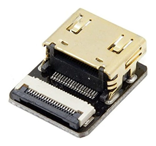 Imagen 1 de 6 de Cablecc Cyfpv Conector Hdmi Tipo A Hembra Socket Para Fpv